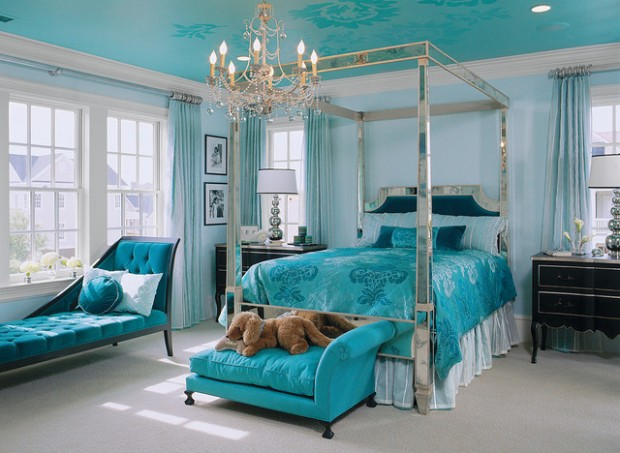 Turquoise Details for Amazing Home Decor Ideas- 20 Great Ideas (10)