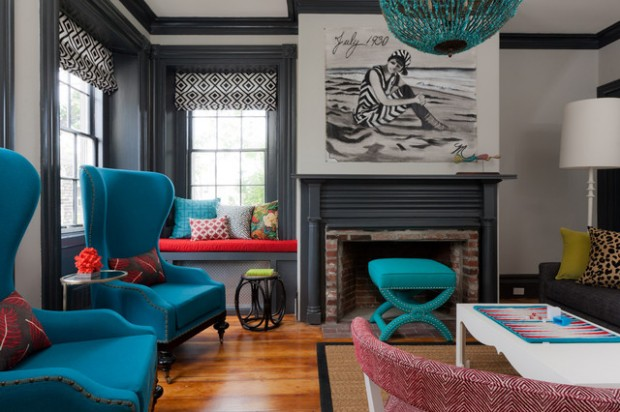 Turquoise Details for Amazing Home Decor Ideas- 20 Great Ideas (11)