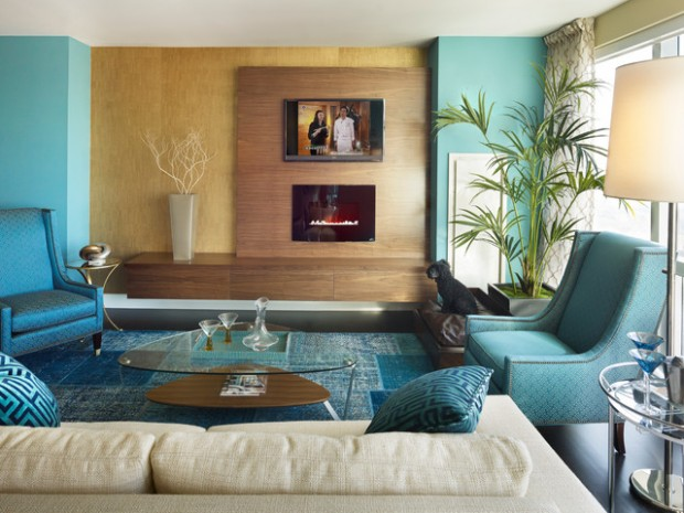Turquoise Details for Amazing Home Decor 18 Ideas That