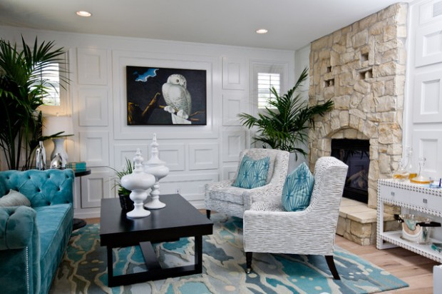 Turquoise Details for Amazing Home Decor Ideas- 20 Great Ideas (3)