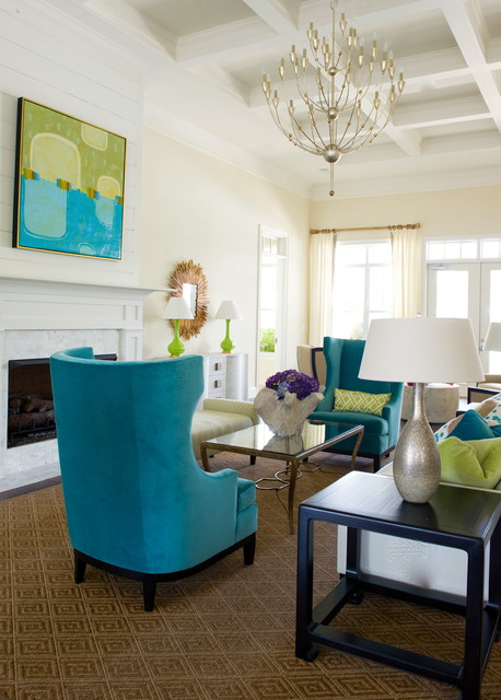 Turquoise Details for Amazing Home Decor Ideas- 20 Great Ideas (5)