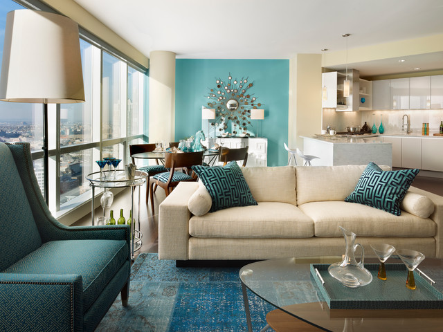 Turquoise Home Decor Ideas Part - 50: Turquoise Details For Amazing Home Decor - 18 Ideas That You Will Love -  Style Motivation