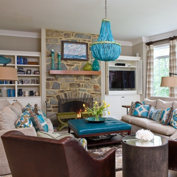Turquoise Details for Amazing Home Decor Ideas- 20 Great Ideas (7)