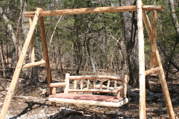 15 Custom Handcrafted Porch Swing Designs (6)