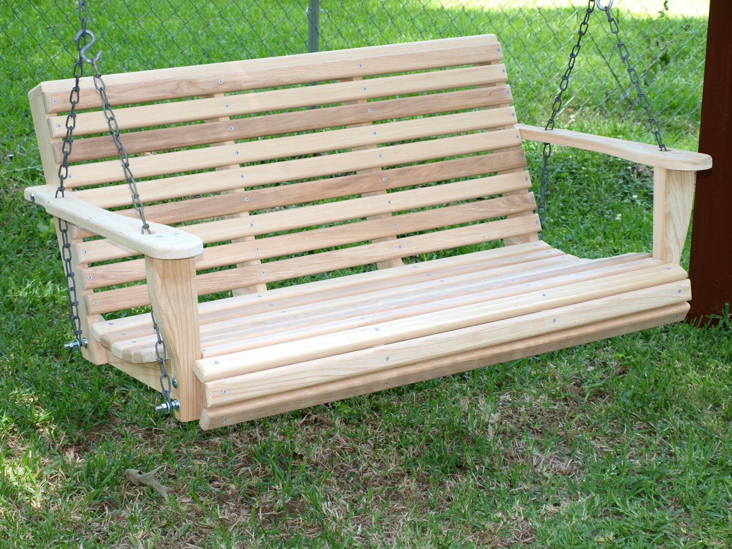 Picture of: 15 Custom Handcrafted Porch Swing Designs