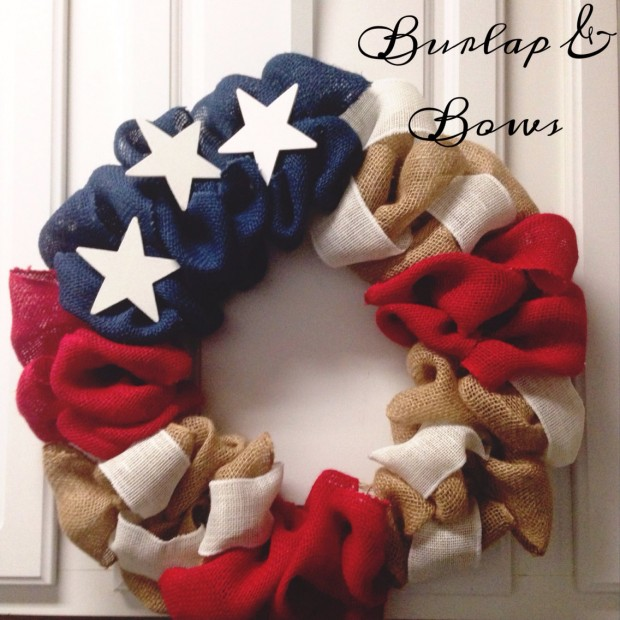 15 Festive Handmade 4th of July Wreath Designs (4)
