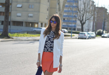 23 Incredible Combinations With White Blazers - women combinations, white blazers, outfit, Fashion for woman, casual outfit