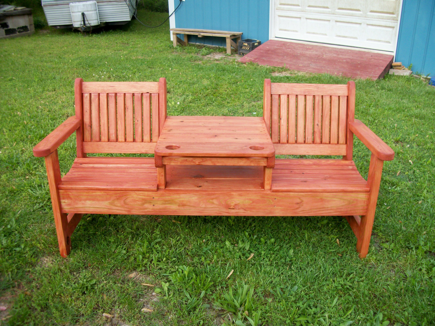 26 best outdoor bench ideas themescompany Yard bench