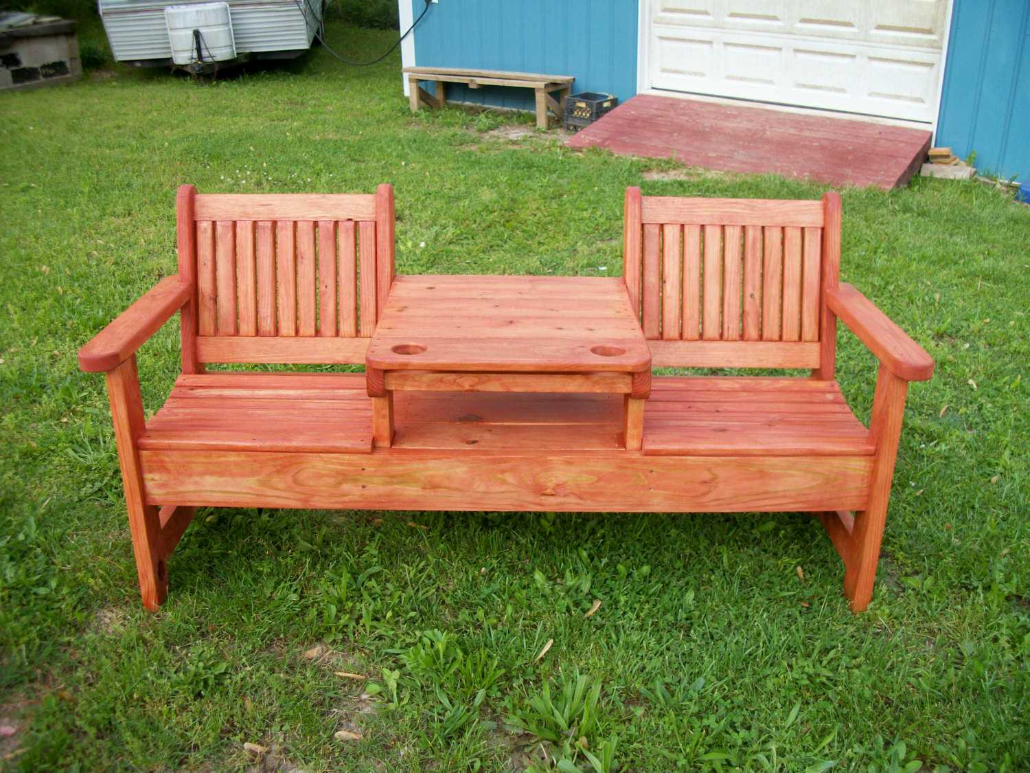 Woodworking outdoor bench patterns PDF Free Download