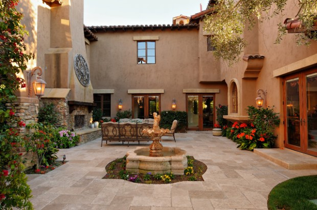 Amazing courtyards 19 landscaping design ideas style for Interior courtyard designs