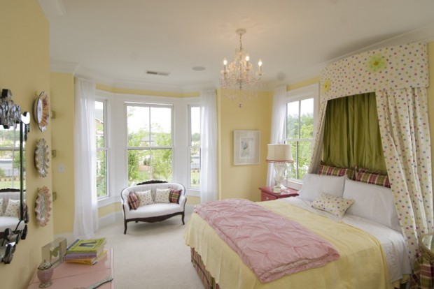 pastel and soft colors in your bedroom for perfect