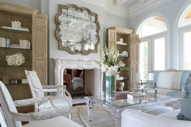 Delightful 17 Beautiful Living Room Decorating Ideas With Wall Mirrors
