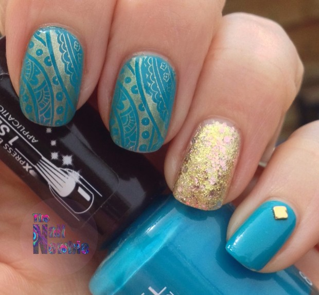 Blinking Nails for Summer  15 Sparkly and Glitter Nail Art Ideas
