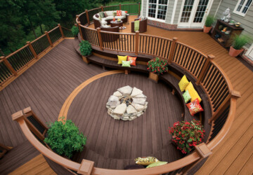 19 Amazing Deck Design Ideas for Your Outdoor Area - outdoor, deck design idea, deck design, deck