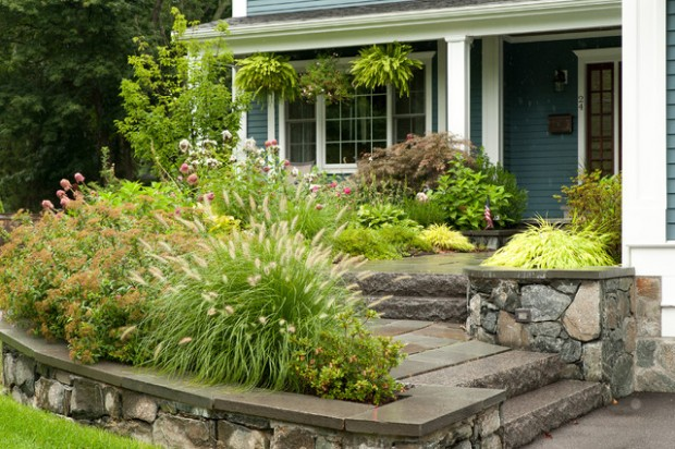 small front yard landscaping ideas (11)