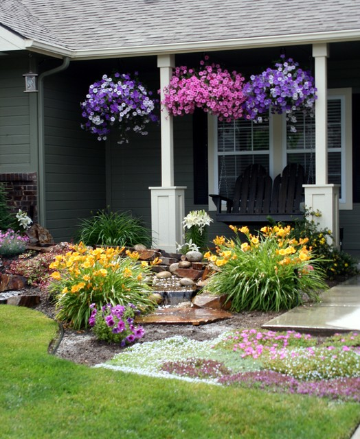 small front yard landscaping ideas (12)