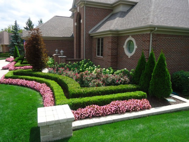 19 Amazing Small Front Yard Landscaping Ideas - Style ... on Small Landscape Garden Design  id=46642
