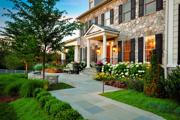 small front yard landscaping ideas (16)