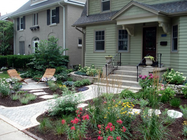 small front yard landscaping ideas (17)