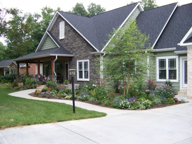 small front yard landscaping ideas (4)