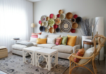 18 Gorgeous Home Decor Ideas with Unique Wall Art Pieces - wall art, home decor