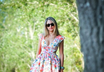 Lovely Floral Dresses for Cute Summer Look - summer outfits, summer fashion, floral dresses, floral