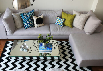 Chevron Details for Trendy Home Decorating: 20 Amazing Ideas - Trendy Home Decorating, Home Decorating, Chevron Home Decorating, Chevron Details, chevron