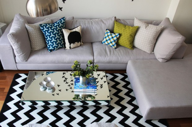Chevron Details for Trendy Home Decorating: 20 Amazing Ideas