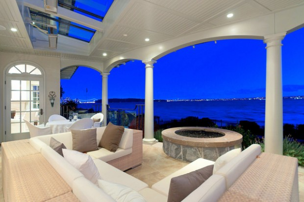 21 Amazing Patio Design Ideas with Breathtaking Sea View
