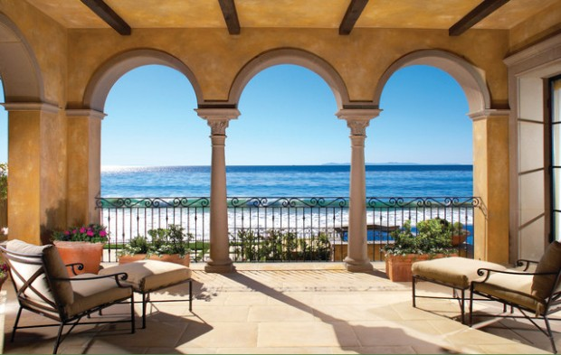 Patio design ideas with sea view  (6)
