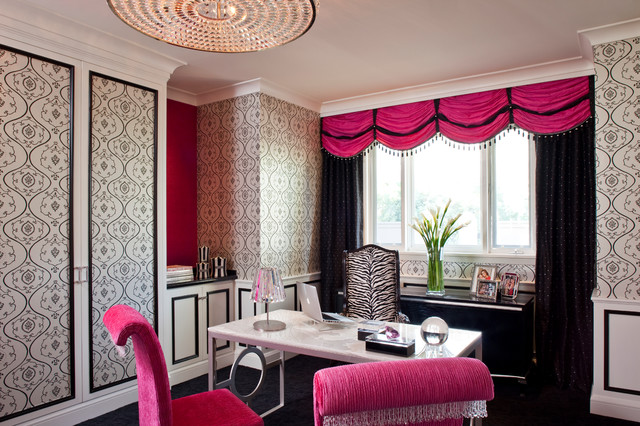 Pretty and Girly Home Offices  20 Functional Design Ideas  Style