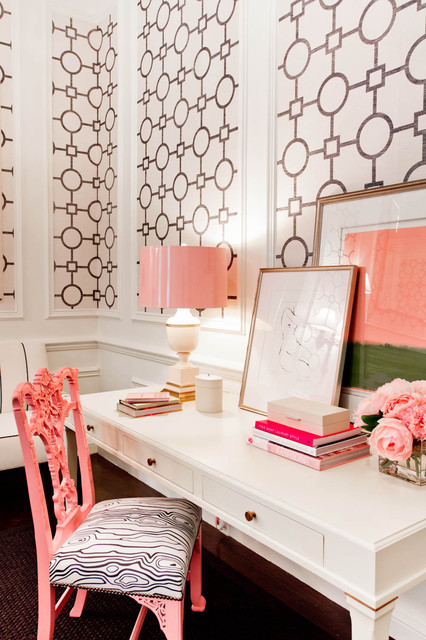 girly office. Pretty And Girly Home Offices 20 Functional Design Ideas Office P