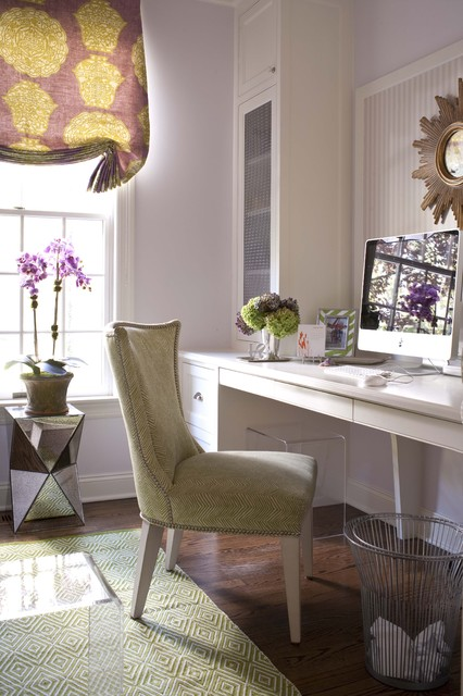Pretty and Girly Home Offices   20 Functional Design Ideas