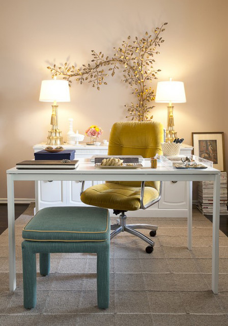 Pretty And Girly Home Offices Functional Design Ideas Style