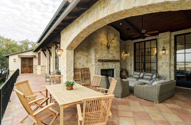 Wicker Patio Furniture Ideas for Perfect Outdoor Summer Decor (12)