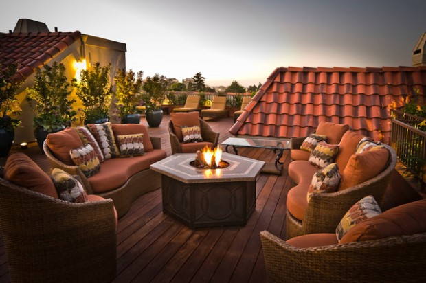 Wicker Patio Furniture Ideas for Perfect Outdoor Summer Decor (13)