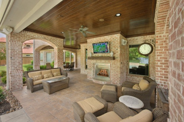 Wicker Patio Furniture Ideas for Perfect Outdoor Summer Decor (17)