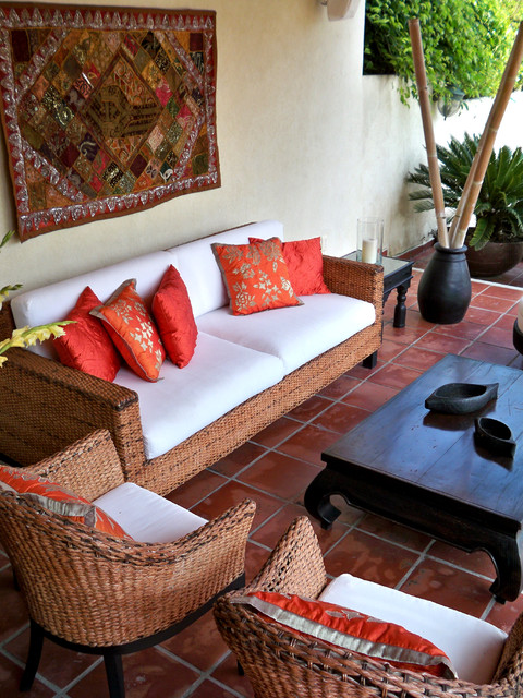 Wicker Patio Furniture Ideas for Perfect Outdoor Summer Decor (25)