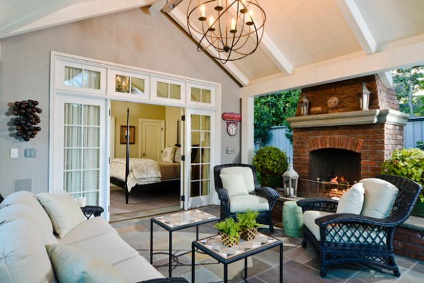 Wicker Patio Furniture Ideas for Perfect Outdoor Summer Decor (7)