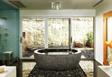 20 Beautiful Bathtub Design Ideas Perfect for Relaxing  - Relaxing, bathtub design ideas, bathtub, bathroom design