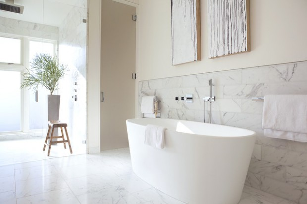 20 Beautiful Bathtub Design Ideas Perfect for Relaxing