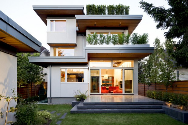 18 Amazing Contemporary Home Exterior Design Ideas