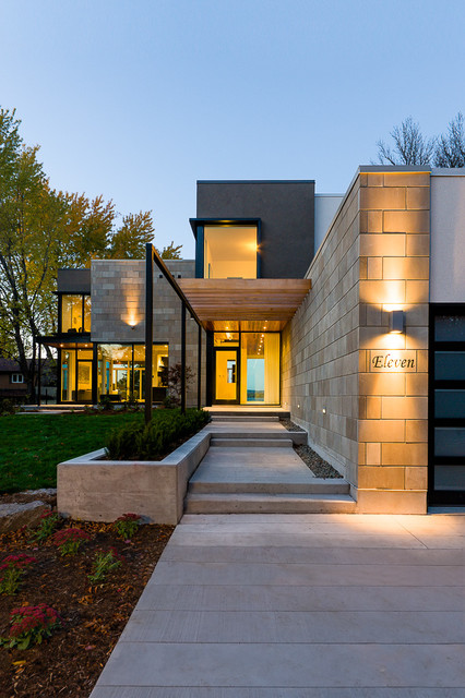 18 Amazing Contemporary Home Exterior Design Ideas - Style ... on Amazing Modern Houses  id=99874