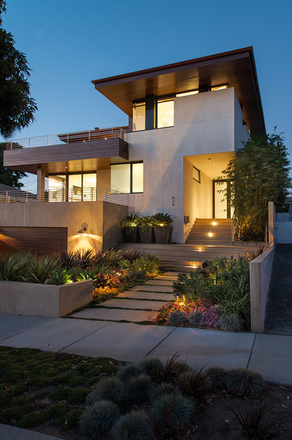 18 amazing contemporary home exterior design ideas style for Modern architecture homes