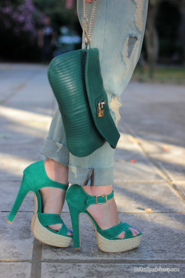 22 Fresh Looks Of All Shades Of Green