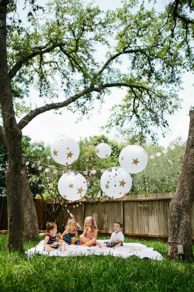 15 Amazing DIY Party Decorations for Your Outdoor Summer Party (12)