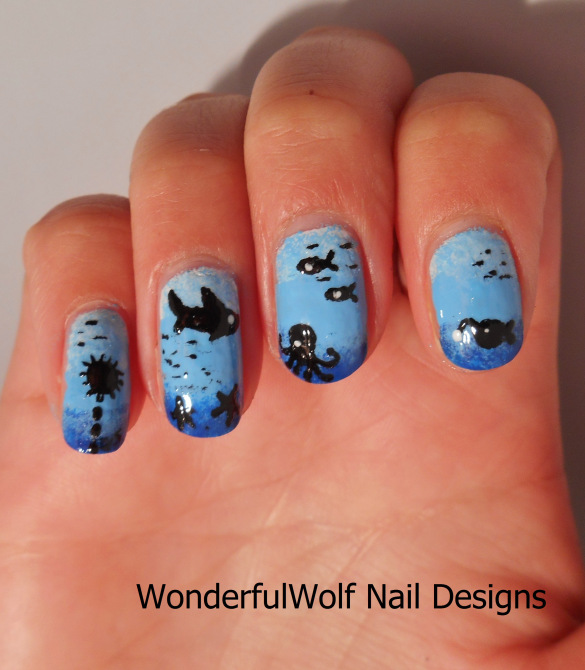 17 Creative Ombre Nail Art Ideas Ideal for Summer (11)