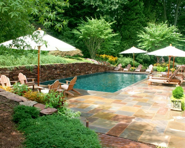 20 amazing pool design ideas for your small backyard area for Patio designs for small areas