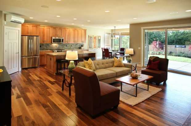 17 open concept kitchen living room design ideas - Living Room Design Concepts