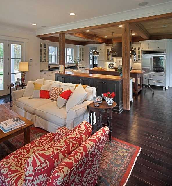 marvelous Open Concept Design Ideas Part - 14: 17 Open Concept Kitchen Living Room Design Ideas